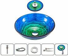 Keramik-Waschbecken Künstlerisches gehärtetes