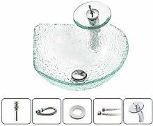 Keramik-Waschbecken Moderne gehärtetem Glas