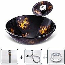 Keramik-Waschbecken Moderne Rund Aufsatz-