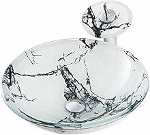 Keramik-Waschbecken Moderner Marmor Patterned