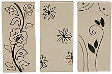 Keramik Wasser - Verdunster Luftbefeuchter für Heizung / Flachheizkörper; 1 Artikel, versch. Motive erhältlich