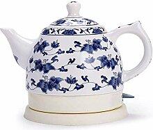 Keramik-Wasserkocher 1L Akku-Teekanne Teekanne