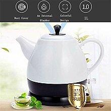Keramik Wasserkocher Retro Teekanne 1L Krug 1350W