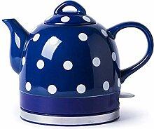 Keramik-Wasserkocher Teekanne-Retro 1L Krug 1200W