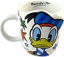 Keramikbecher 'Donald Duck'mehrfarbig (britto).