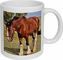 Keramikbecher 'Pferd' (mg00000302)