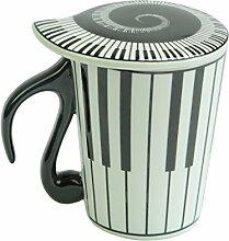 Keramikbecher für Musiker, Kaffee- oder