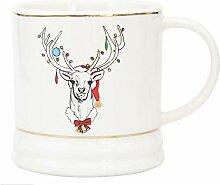 Keramikbecher, Hochwertiges Weihnachtsgeschenk,ELK