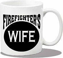 Keramikbecher Keramik Kaffeetassen Feuerwehrmann