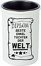 Keramikbecher, Stifte Becher, Vase. Diplom Beste