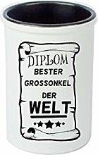 Keramikbecher, Stifte Becher, Vase. Diplom Bester