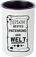 Keramikbecher, Stifte Becher, Vase. Diplom Bestes