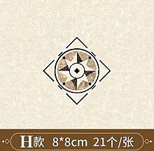 Keramikfliesen, Diagonale Boden, wasserdicht,