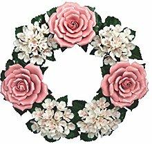 Keramikkranz Gartendeko Hausdeko Geschenkidee
