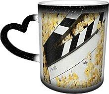 Keramiktasse Film Popcorn Kaffeebecher Lustige