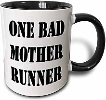 "Keramiktasse mit Aufschrift ""One Bad Mother"