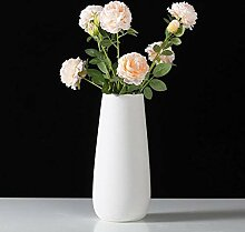 Keramikvase, handgefertigt, Porzellan,