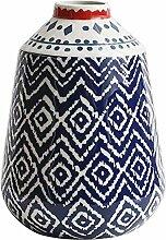 Keramikvase, Keramik, Blumengesteck für trockene