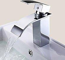 Keramikventil Wasserhahn Moderne Silber Toilette