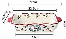 Keramische Auflaufform Braten Lasagne Pfanne