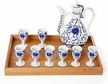 Keramische Chinesische Antike Weinglas Celadon