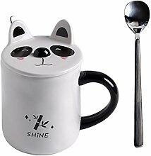 Keramische Kaffeebecher Becher Setzen Handy Tasse