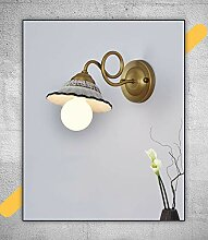Keramische Schmiedeeisen-Wandlampe der modernen