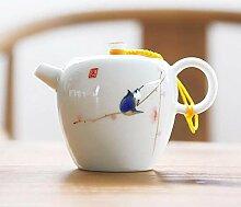 Keramische Teekanne Handbemalte Keramik Teekanne