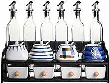 Keramische Würze Flasche Küche liefert Öl und