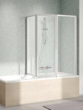 Kermi Vario 2000 Badewannenaufsatz Faltwand