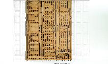 Kernbuche Kleiderschrank Massivholz 3 Türen