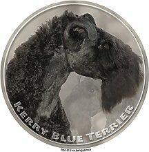 Kerry Blue Terrier Aufkleber 25 cm