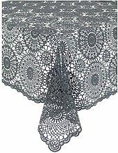 Kersten .2 Tischdecke Croch Pvc 150 x 264 cm