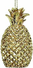 Kersten Christbaum-Anhänger Ananas 6.5cm Gold