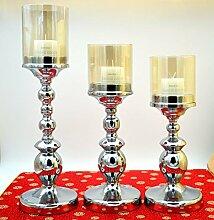 Kerze metall Originalität Hochzeit Dekoration Kurze, Trompete ein