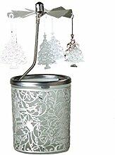 Kerzenfarm Weihnachtsbaum Rotary Karussell für