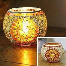 Kerzenhalter Teelichthalter Kristall Kerzenhalter