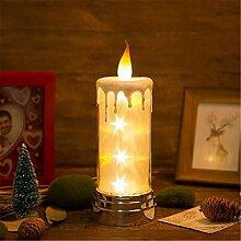 Kerzenlichter, USB Lade Kerze Meteor Lampe DREI