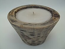 Kerzenschale, Dekoschale aus Takaholz