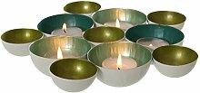 Kerzenschale Kerzenhalter Teelichthalter Metall
