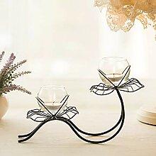 Kerzenständer,Europäische Home Dekoration Eisen