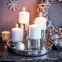 Kerzentablett für glanzvolle Dekorationsideen