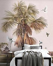 Keshj Custom 3D Wallpaper Coconut Baum Landschaft