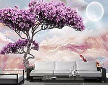 Keshj Drucken Fototapete Baum 3D Wandmalereien