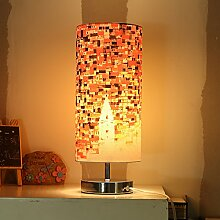 Kesierte Einfache Nachttischlampe Schlafzimmer Studie Lampe dimmbare LED-Lampe