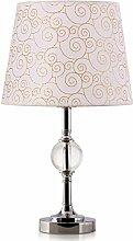 Kesierte Europäische modernen minimalistischen Schlafzimmer Nachttischlampe Kristall-Lampe Tischlampe eingerichtetes Wohnzimmer , c