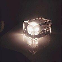 Kesierte LED-Eis-Lampe kreative Persönlichkeit Wohnzimmertisch Lampen Studie Lampe