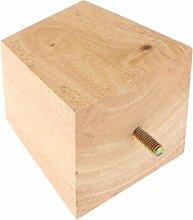 KESOTO Möbelfüße Holz Schrankfuß Tischfuß
