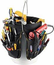 KESOTO Werkzeugtasche Werkzeugkoffer Eimer