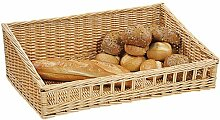 Kesper 4 Stück Bäckerei Auslagen Korb, Brotkorb,